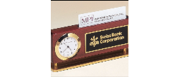 EDA-2 - Desk Clock & Business Card case