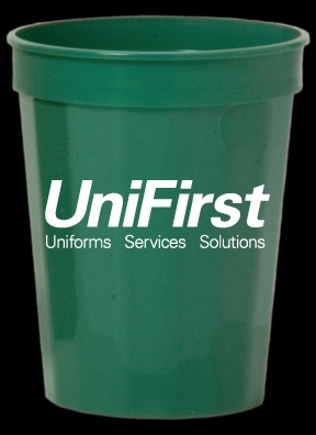 DW-16FG - 16oz Green Stadium Cup